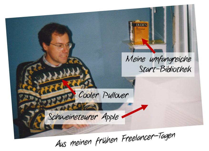 Mein erstes Textbüro als Freelancer in Hamburg
