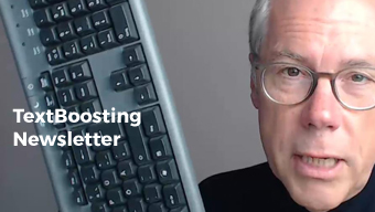 TextBoosting-Newsletter abonnieren!