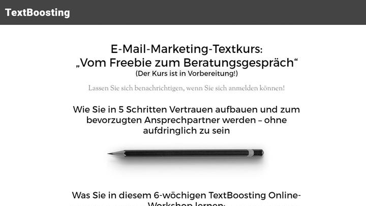 E-Mail-Marketing-Textkurs