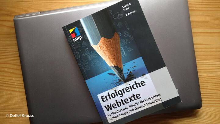 """""""Erfolgreiche Webtexte"""" von Sabrina Forst"""