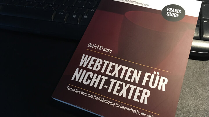 "PraxisGuide ""Webtexten für Nicht-Texter"""