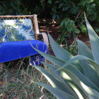 Gartenmöbel aus Rattan