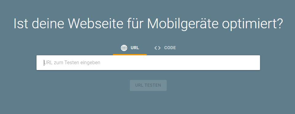 Test: Ist Ihre Webseite für Mobilgeräte optimiert?