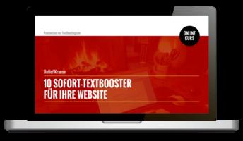 10 Sofort-TextBooster für Websites