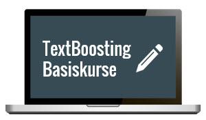 TextBoosting Basiskurse