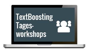 TextBoosting Tagesworkshops