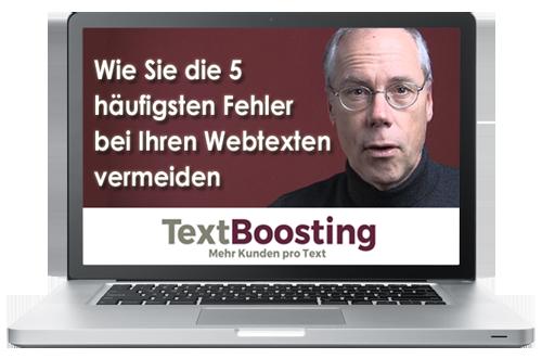 Wie Sie die 5 häufigsten Fehler bei Ihren Webtexten vermeiden