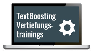 TextBoosting Vertiefungstrainings