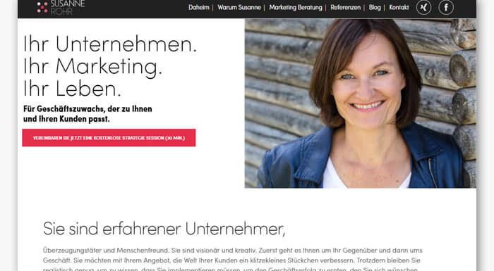 Susanne Rohr | Marketing-Beraterin
