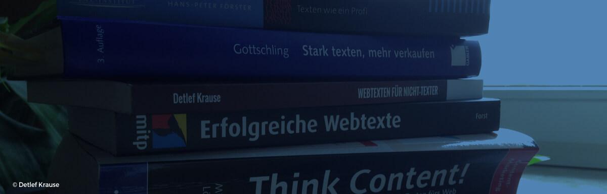 5 + 1 Bücher für gute Internettexte
