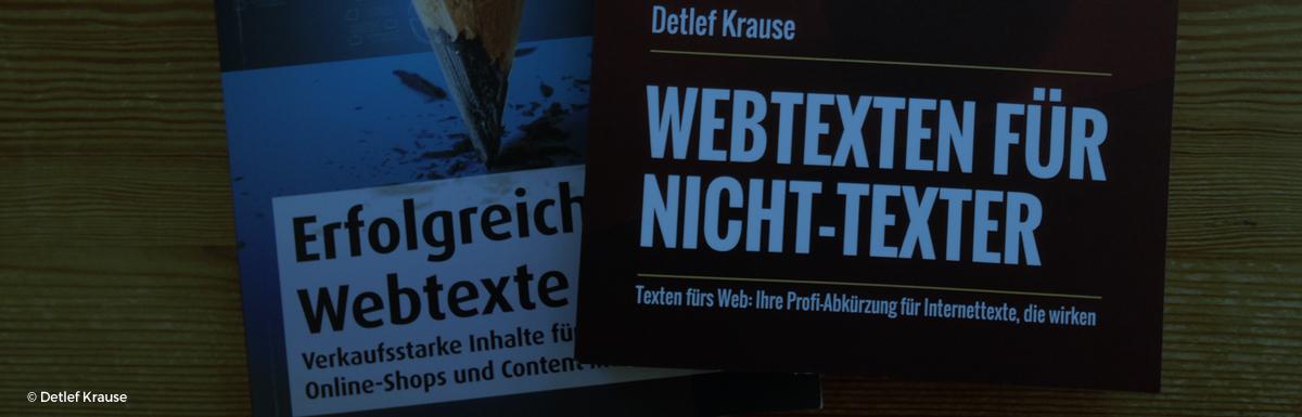 Gut für den Texter-Einstieg: Texten lernen mit Fachbüchern