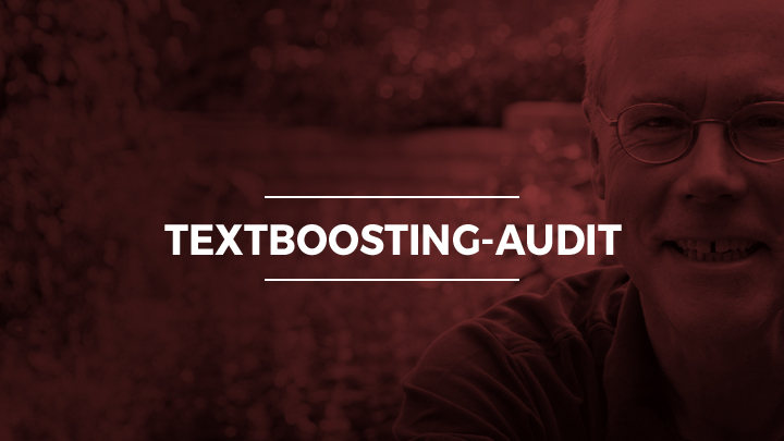TextBoosting-Audit