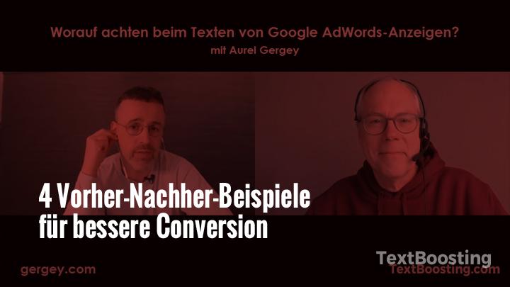 Google Adwords texten: Interview mit dem Schweizer Texter und Google Adwords-Textprofi Aurel Gergey