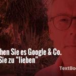 So machen Sie es Google & Co. leicht, Sie zu lieben