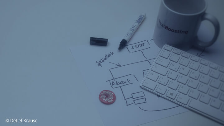 Textcoaching:  neue Website texten