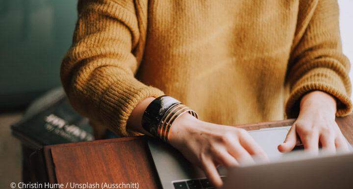 Den Unterschied zwischen Schreiben und Texten merken Sie spätestens an Ihrer Kasse