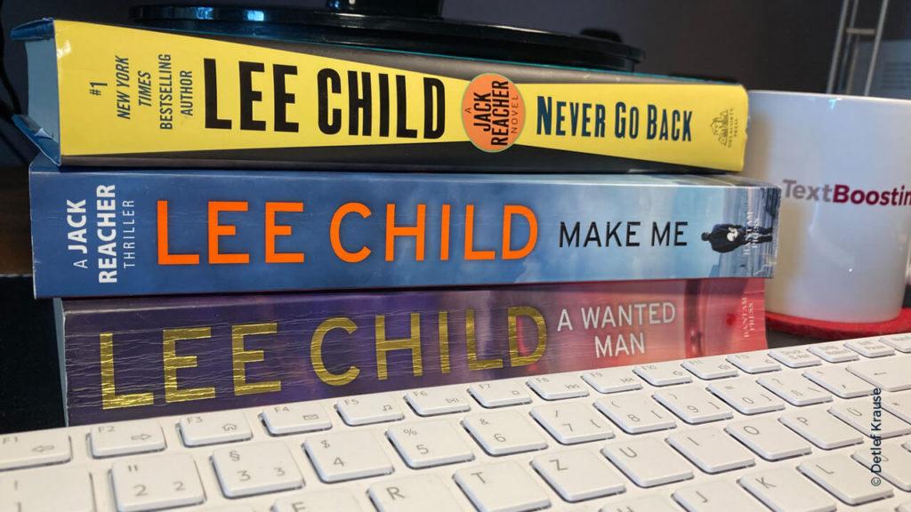 Spannende Texteinstiege von Lee Child