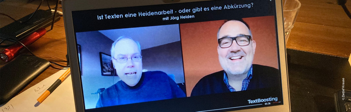 Interview mit Texter Jörg Heiden