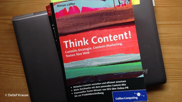 """""""Think Content"""" von Miriam Löffler"""