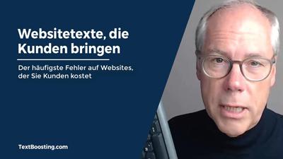 Online-Textkurs: Websitetexte, die Kunden bringen