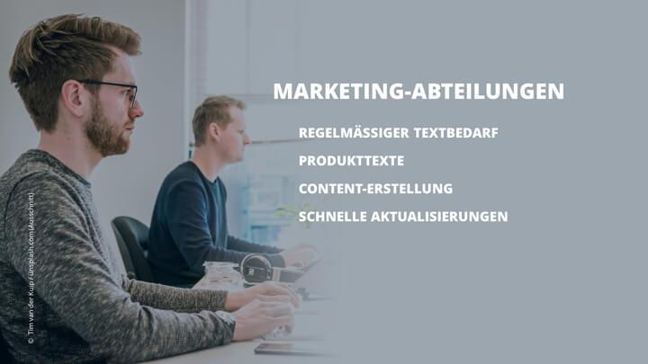 Als  Marketingverantwortlicher Webtexte extern schreiben lassen oder inhouse selber texten?