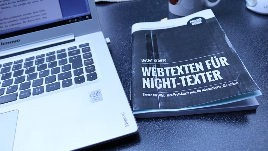"Making of … ""Webtexten für Nicht-Texter"""