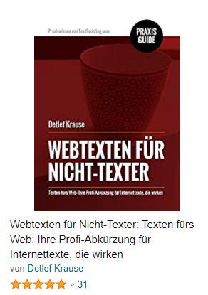 Praxisanleitung: Webtexten für Nicht-Texter auf Amazon